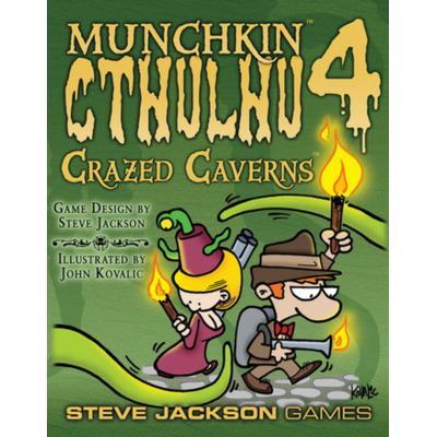 Steve Jackson Games Munchkin Cthulhu 4: Crazed Caverns