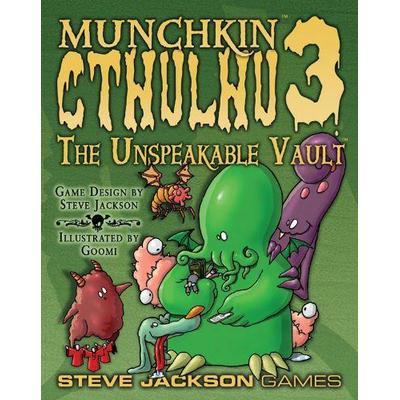Steve Jackson Games Munchkin Cthulhu 3: The Unspeakable Vault