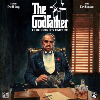 Asmodee The Godfather: Corleone's Empire (Engelska)