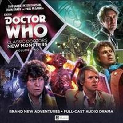 Doctor Who - Classic Doctors, New Monsters (Ljudbok CD, 2017)