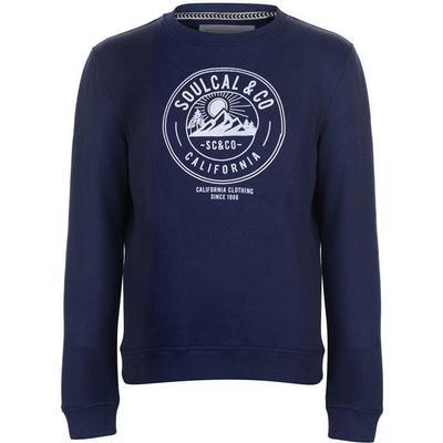 SoulCal Trek Crew Sweater Navy (52248522)