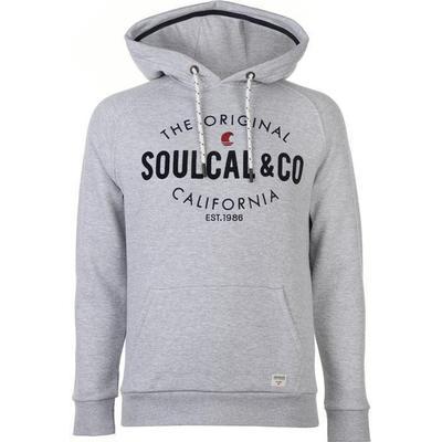 SoulCal OTH Hoody Grey Marl (53005925)