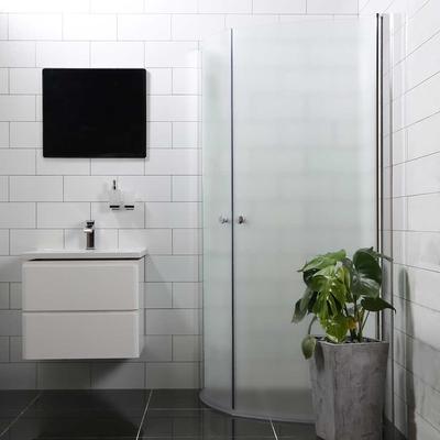 Bathlife Mångsidig Rund Duschhörna 1000x800mm