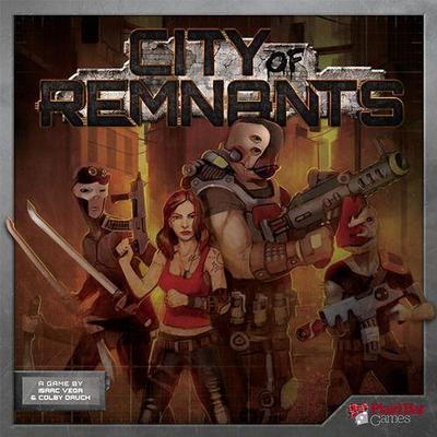 Plaid Hat Games City of Remnants (Engelska)