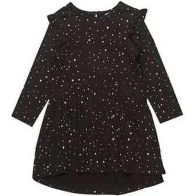 Burton Ditsy Dress - Black (69Q03ABLK)