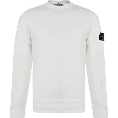 Stone Island Cotton Sweatshirt White (62740)