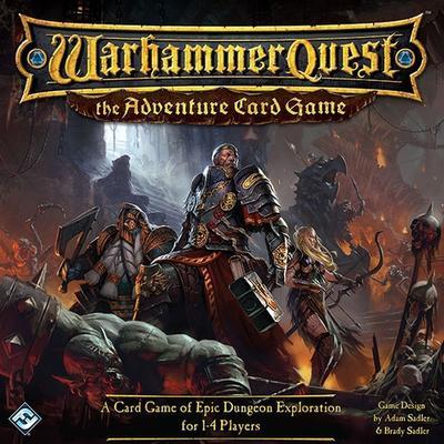 Fantasy Flight Games Warhammer Quest: The Adventure Card Game