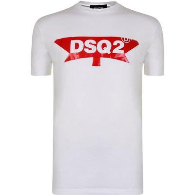 DSquared2 DSQ2 T-shirt White (S74GD0357S22427100)