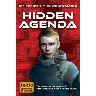 Indie Boards and Cards The Resistance: Hidden Agenda