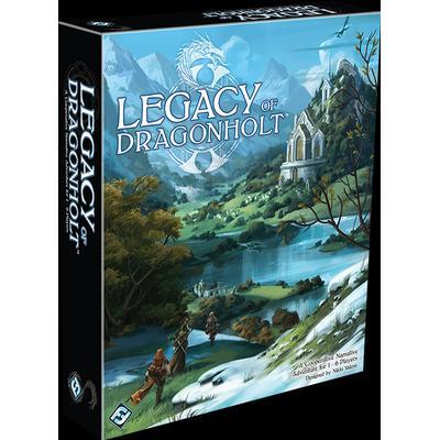 Fantasy Flight Games Legacy of Dragonholt (Engelska)