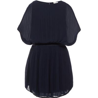 Name It Plisse Short Sleeved Dress - Blue/Sky Captain (13146463)