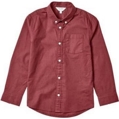 Burton Long Sleeve Oxford Shirt - Red (55S01ABUR)