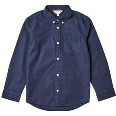 Burton Long Sleeve Oxford Shirt - Navy (55S01ANVY)
