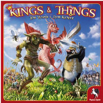 Z-Man Games Kings & Things (Engelska)