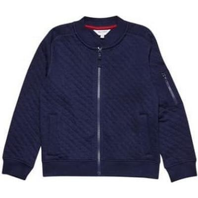 Burton Quilted Bomber Jacket - Navy (55W01ANVY)