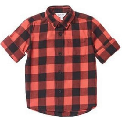 Burton Long Sleeve Checked Shirt - Red (59S02ARED)