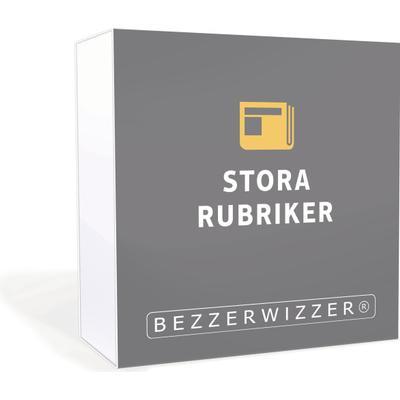 Bezzerwizzer Bricks – Stora Rubriker (Svenska)