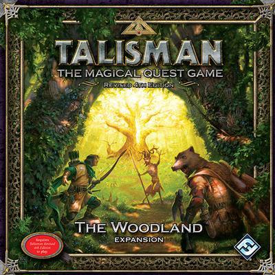 Fantasy Flight Games Talisman: The Woodland (Engelska)