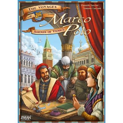 Z-Man Games The Voyages of Marco Polo: Agents of Venice Resespel