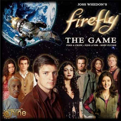 Gale Force Nine Firefly: The Game Resespel