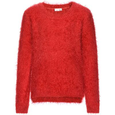 Name It Nitkalan Knitted Top - Red/Poinsettia (13144896)