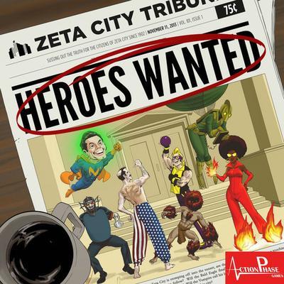 Heroes Wanted (Engelska)