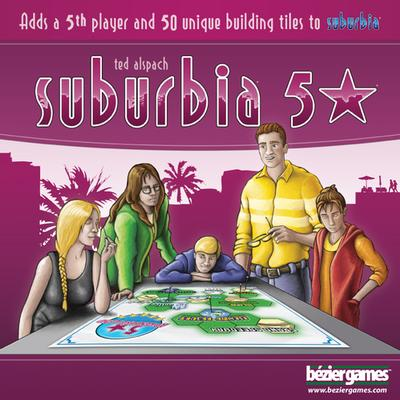 Bezier Games Suburbia 5 Star