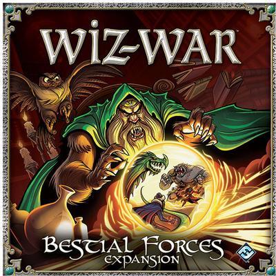Fantasy Flight Games Wiz-War: Bestial Forces (Engelska)