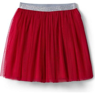 Lands End Soft Tulle Skirt - Rich Red (490098)