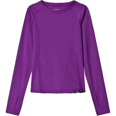 Lands End Thermaskin Heat Midweight Crew Top - Twilight Violet (419753)