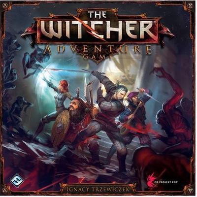 Fantasy Flight Games The Witcher Adventure Game (Engelska) Resespel