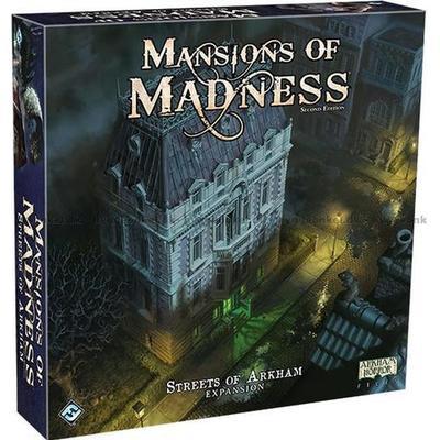 Fantasy Flight Games Arkham Horror: Mansions of Madness: Second Edition Streets of Arkham