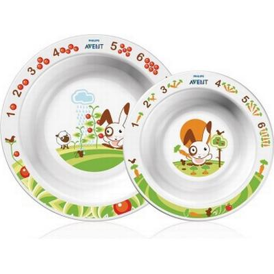 Philips Avent Set med 2 Skålar för Småbarn 6m+