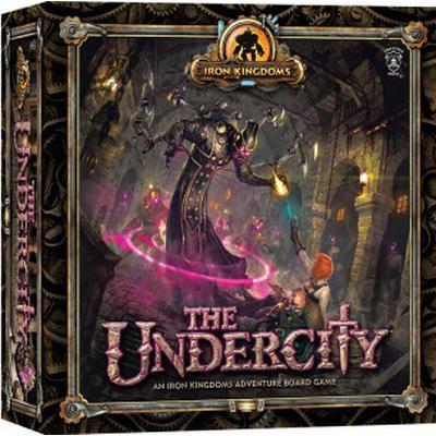 Privateer Press The Undercity: An Iron Kingdoms Adventure (Engelska)