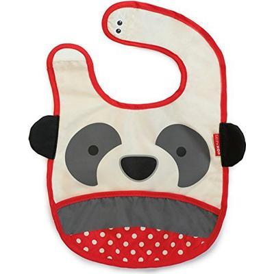 Skip Hop Zoo Tuck Away Bib Pia Panda