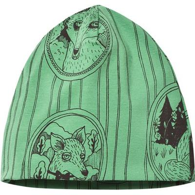 Mini Rodini Fox Family Beanie - Green (1776510075)