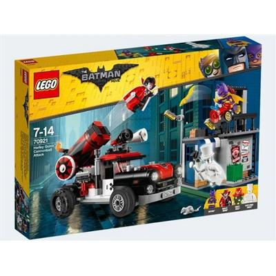 Lego The Batman Movie Harley Quinn Cannonball Attack 70921