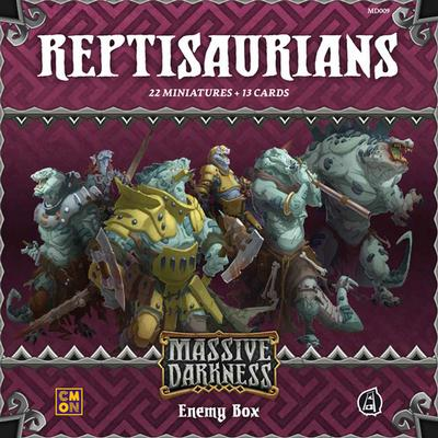 Guillotine Games Massive Darkness: Enemy Box Reptisaurians