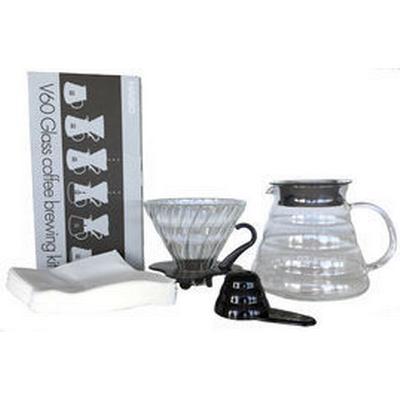 Hario V60 Glass Coffee Brewing Kit