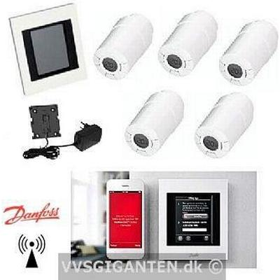 Danfoss connect Danfoss Living Connect Pakke med valgfri antal termostater