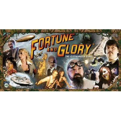 Flying Frog Productions Fortune & Glory: The Cliffhanger Game (Engelska)