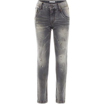Name It X-slim Fit Jeans - Grey/Medium Grey Denim (13154336)