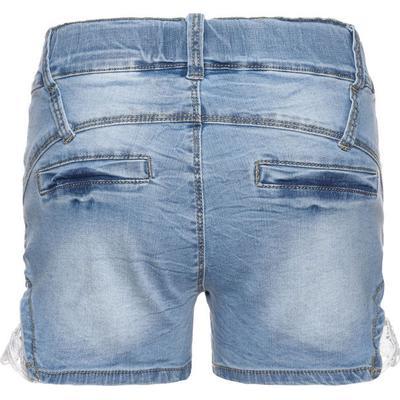 Name It Nitbatira Slim Denim Shorts - Blue/Light Blue Denim (13140066)