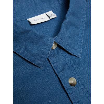 Name It Long Sleeved Shirt - Blue/Ensign Blue (13144031)