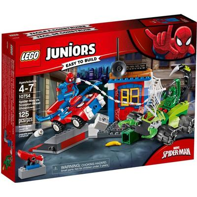 Lego Juniors Spider Man vs. Scorpion Street Showdownd 10754