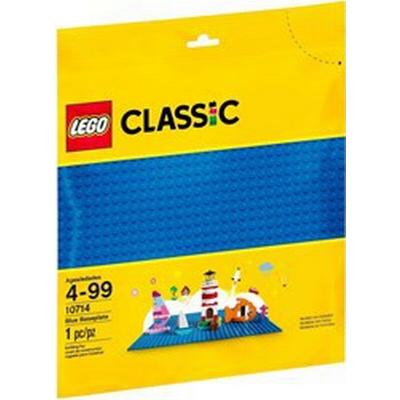 Lego Classic Blue Building Plate 10714