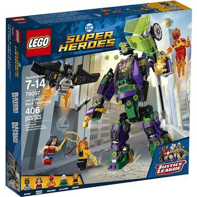 Lego DC Super Heroes Lex Luthor Robotkamp 76097