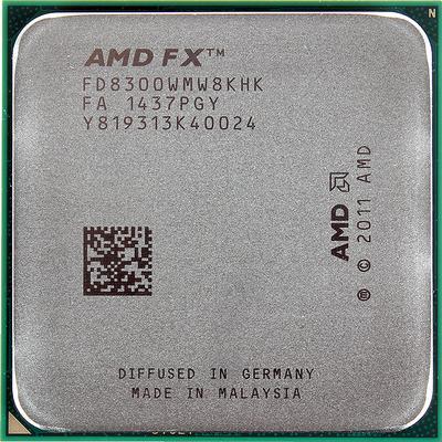 AMD FX 8-Core Black Edition FX-8300 3.3GHz Tray