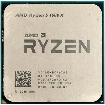 AMD Ryzen 5 1600X 3.6GHz Tray