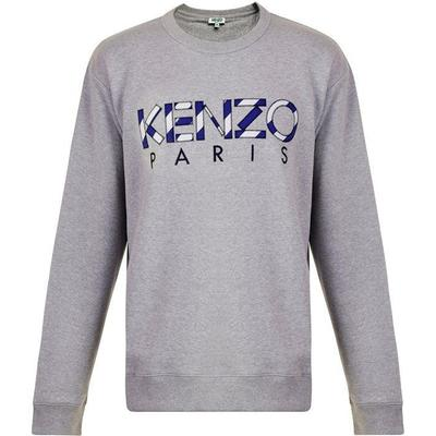 Kenzo Paris Sweatshirt Pale Grey (F855SW0004MD.93.L)
